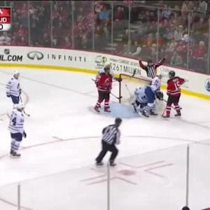 Jonathan Bernier Save on Tuomo Ruutu (08:06/3rd)