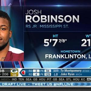 Indianapolis Colts pick running back Josh Robinson No. 205 in 2015 NFL Draft