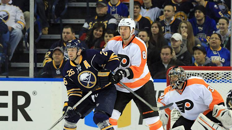 NHL: Philadephia Flyers at Buffalo Sabres