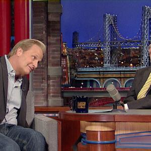 David Letterman - Jeff Daniels Shows Some Butt Crack