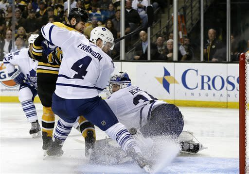 Bruins-Maple Leafs Preview