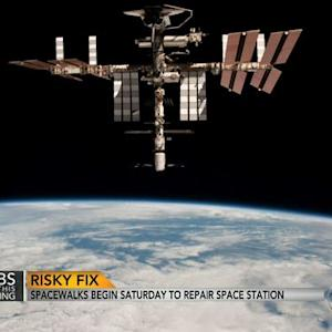 Spacewalks set to begin for International Space Station repairs
