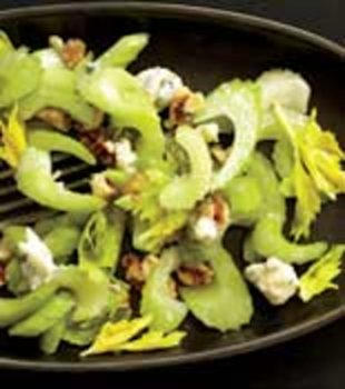 celery salad with bleu cheese