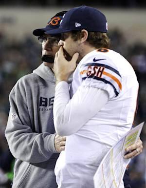 Spotlight on Cutler with Bears eyeing playoffs