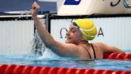 Prue Watt won Australia's 18th and final gold in the pool at the Paralympics