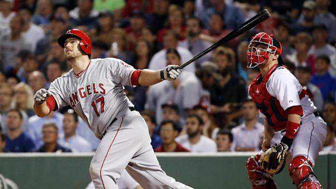lannetta's double in 9th lifts Angels over Bosox