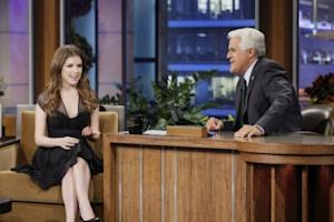 "Jay Leno interviews Anna Kendrick on ""The Tonight Show with Jay Leno"" -- NBC"