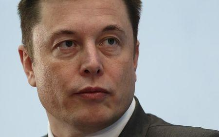 Tesla Chief Executive Elon Musk attends a forum on startups in Hong Kong
