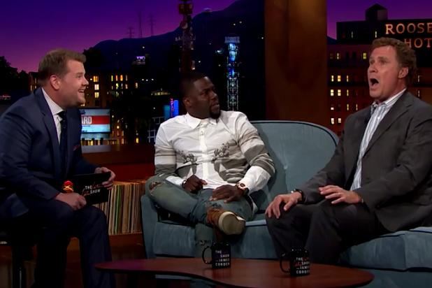 Will Ferrell Sings 'Star Trek' Theme With Perfect Pitch on 'Late Late Show' (Video)
