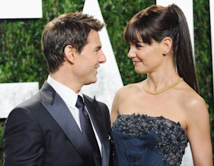 Tom Cruise y Katie Holmes, Foto: Getty Images
