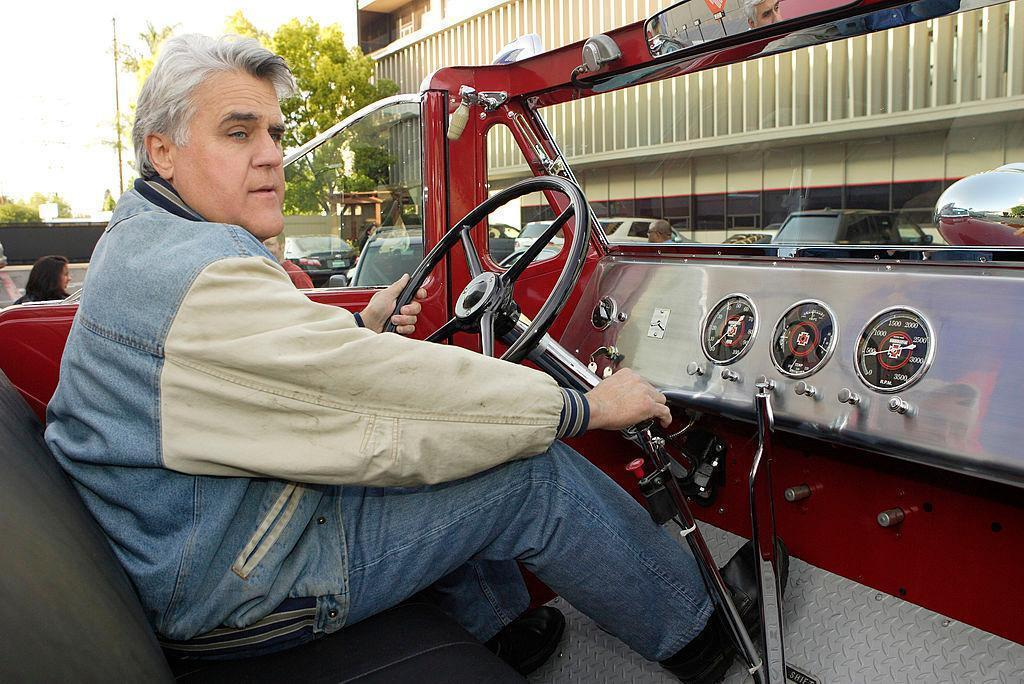 Jay Leno's Back In The Driver's Seat