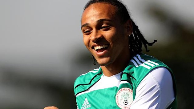 Peter Odemwingie of Nigeria and West Brom
