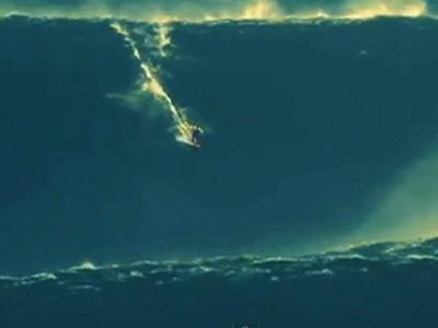 Surfer Recognized For Riding Biggest Wave Ever