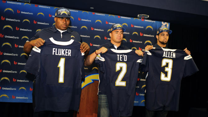 NFL: San Diego Chargers-Press Conference