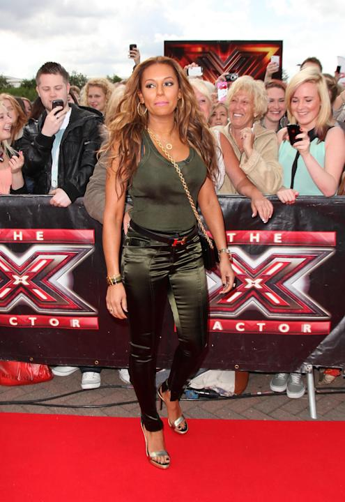 Red Carpet Arrivals For The X Factor Judges Auditions In Manchester
