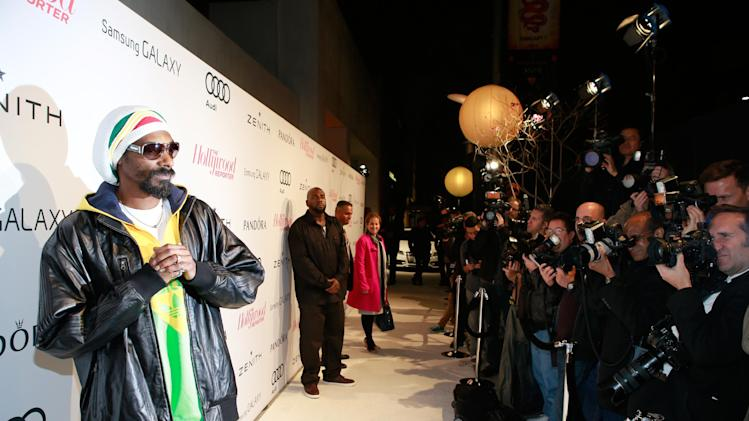 Snoop Dogg AKA Snoop Lion attends The Hollywood Reporter Nominees Night Presented by Samsung Galaxy at Spago on Monday, Feb. 4, 2013, in Beverly Hills, Calif. (Photo by Ben Cohen/Invision for The Hollywood Reporter/AP Images)