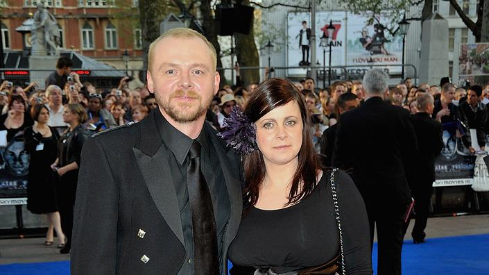 Star Trek UK Premiere 2009 Simon Pegg