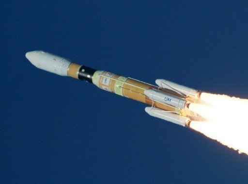 &lt;p&gt;File photo shows a Japanese H-IIB rocket blasting off from the Tanegashima space centre in Japan in 2011. An H-IIB rocket blasted off Saturday to deliver an unmanned supplies vessel to the International Space Station.&lt;/p&gt;