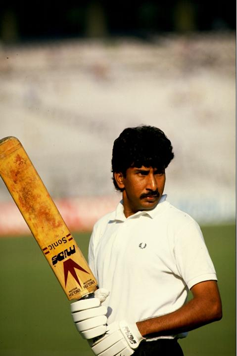 Salim Malik of Pakistan