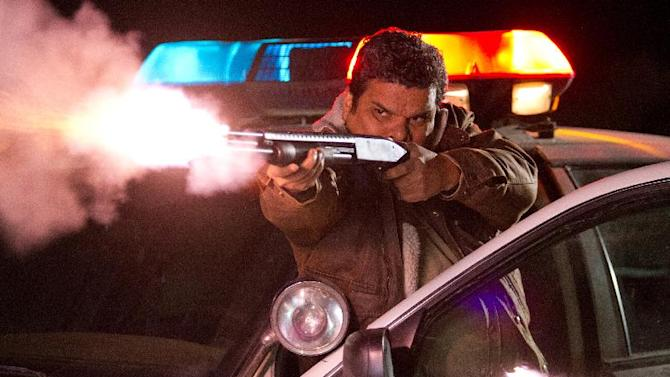 """This film image released by Lionsgate shows Luis Guzmán in a scene from """"The Last Stand.""""  (AP Photo/Lionsgate, Tony Rivetti Jr.)"""