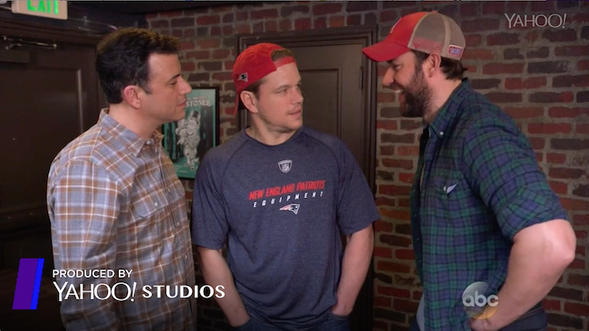 Affleck, Damon, Other Famous Bostonians Claim Guilt For Deflate-Gate