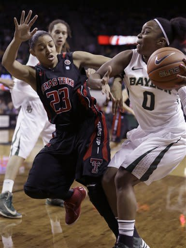 Griner, No. 1 Baylor women beat Texas Tech 89-47