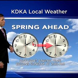 KDKA-TV Evening Forecast (3/6)