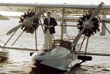 Leonardo DiCaprio as Howard Hughes Miramax Films' The Aviator