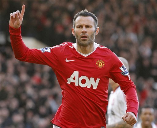Beckham out, Giggs in for Britain's Olympic team