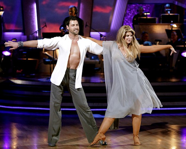 Kirstie Alley and Maksim Chmerkovskiy perform on &quot;Dancing with the Stars.&quot; 
