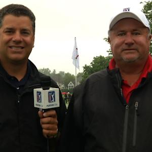 Afternoon preview of Round 4 from TPC River Highlands