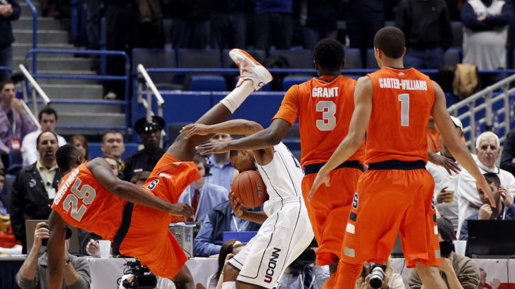 NCAA Basketball: Syracuse at Connecticut