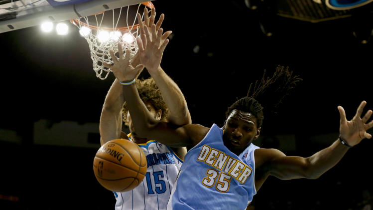 NBA: Denver Nuggets at New Orleans Hornets