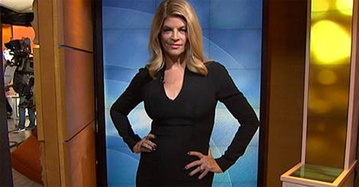 Has Kirstie Alley Been Hiding This From Us?