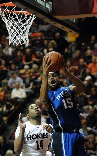 Rivers leads No. 7 Duke past Virginia Tech 75-60