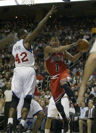 Iguodala leads 76ers past Bulls 98-82