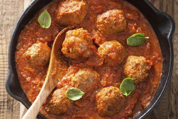 The Italian meatball is one of the world's most popular, and for good reason: It makes up one half of spaghetti and meatballs, quite possibly the world's most notable dish. Seasoned with o