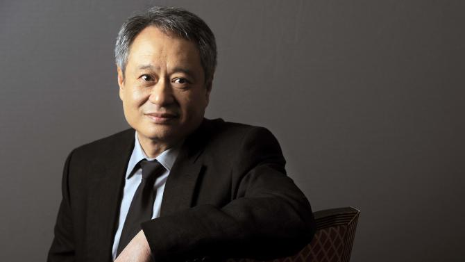 "FILE - This April 26, 2012 file photo shows Ang Lee posing for a portrait backstage at CinemaCon 2012, the official convention of the National Association of Theater Owners in Las Vegas. Lee is the director the the film, ""Life of Pi."" (AP Photo/Chris Pizzello, file)"