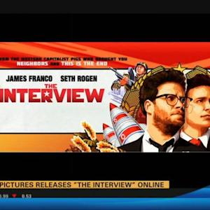 "Sony to stream ""The Interview"""