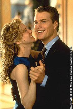 Renee Zellweger and Chris O'Donnell in The Bachelor