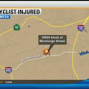 Bicyclist injured in Mira Mesa