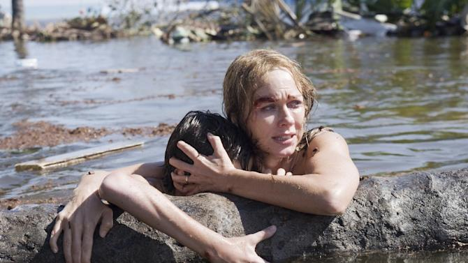 "This publicity film image released by Summit Entertainment shows Naomi Watts in a scene from the film, ""The Impossible."" (AP Photo/Summit Entertainment, Jose Haro)"