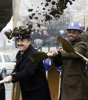 Vikings break ground on new stadium
