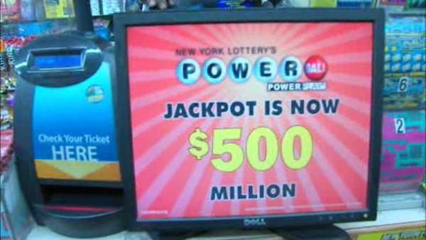 The odds of winning Powerball