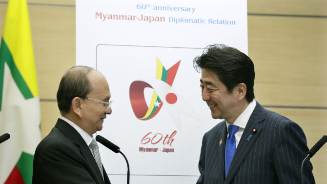 Japan, Myanmar sign investment pact