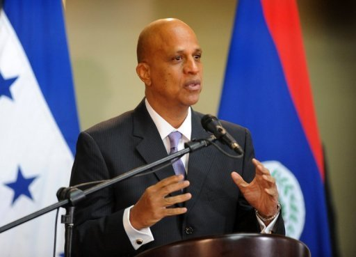 &lt;p&gt;Belize&#39;s Prime Minister Dean Barrow speaks to the media in Tegucigalpa, Honduras, on November 7, 2012. Belize has reached a deal in principle with creditors to restructure about half of its unpaid debt after &quot;long and arduous&quot; talks, allowing the country to avoid default, officials said Friday.&lt;/p&gt;