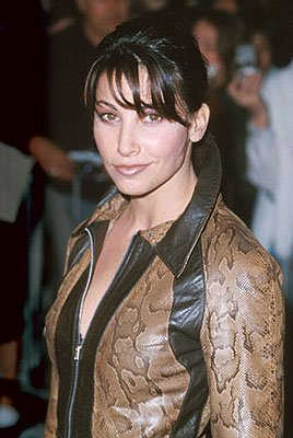 Gina Gershon at the Mann Village Theater premiere of Universal's Erin Brockovich
