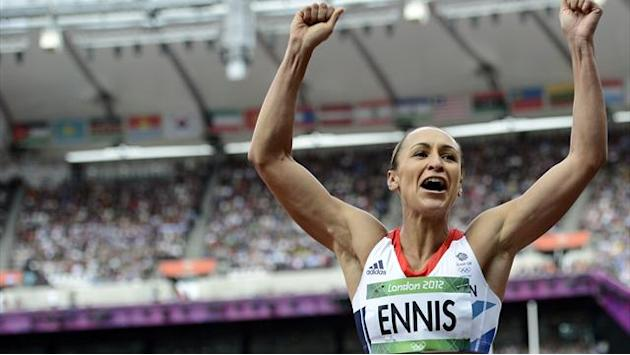 Ennis in sight of Olympic gold with one event left