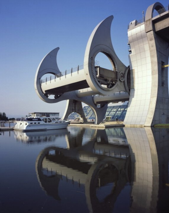 Falkirk Wheel, Falkirk Forth and Clyde Canal, Scotland