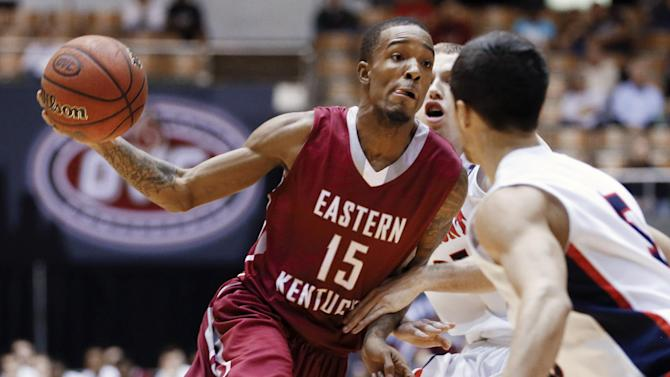 E Kentucky upsets Belmont 79-73 for OVC title